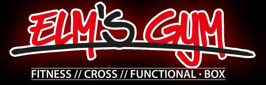 Logo Elm's Gym: Elm's Gym Fitness Cross Functional Boxen